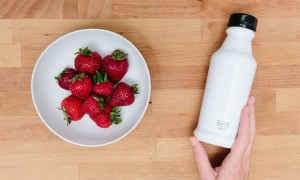 Soylent 2.0 with strawberries
