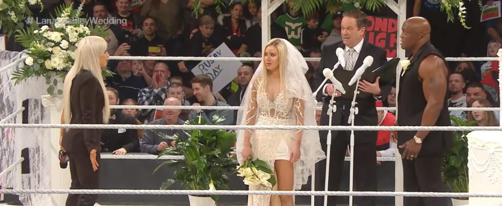 Liv Morgan, lana, Bobby Lashley on RAW