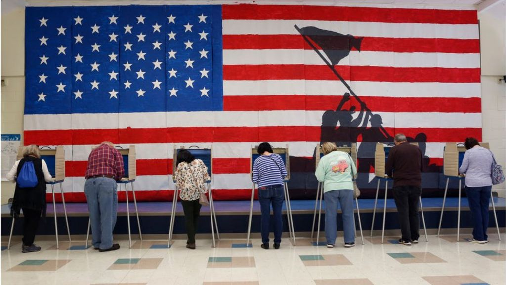 voters voting Getty image
